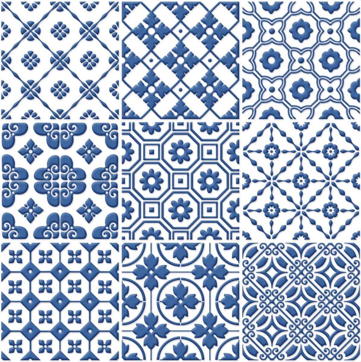 Signorino: Blue on White
