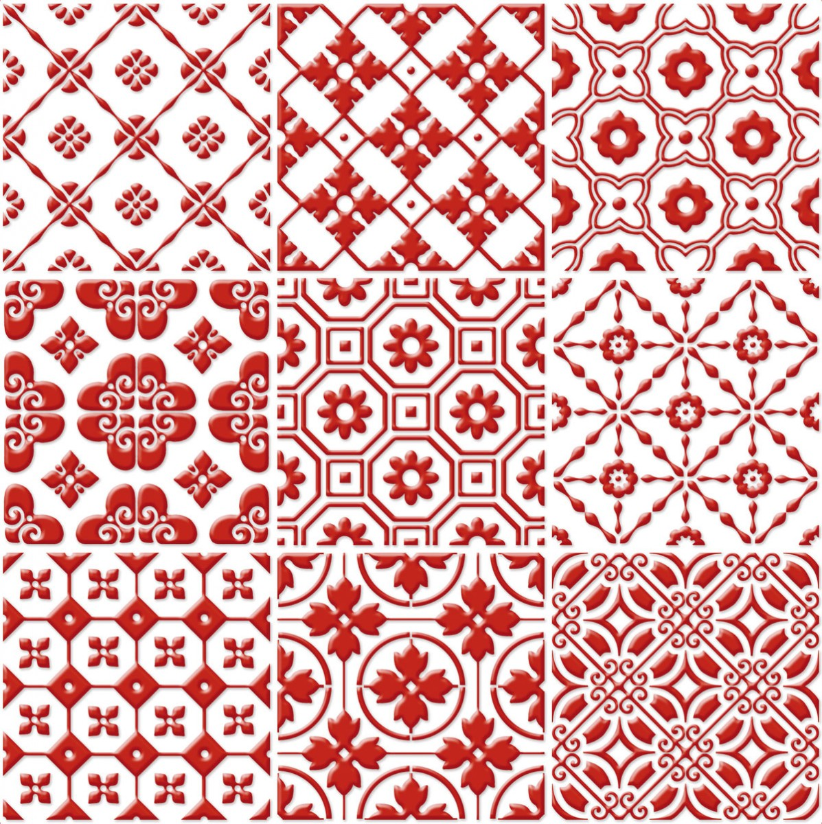 Signorino: Red on White