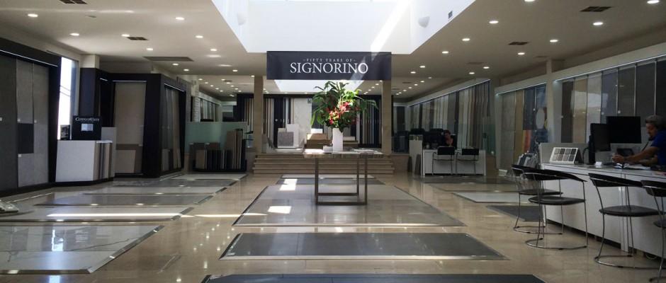 Signorino: Our Showroom
