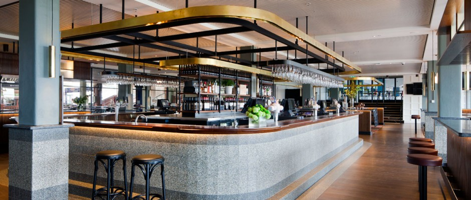 Signorino: Featured Project: Caulfield Racecourse Medallion Bar