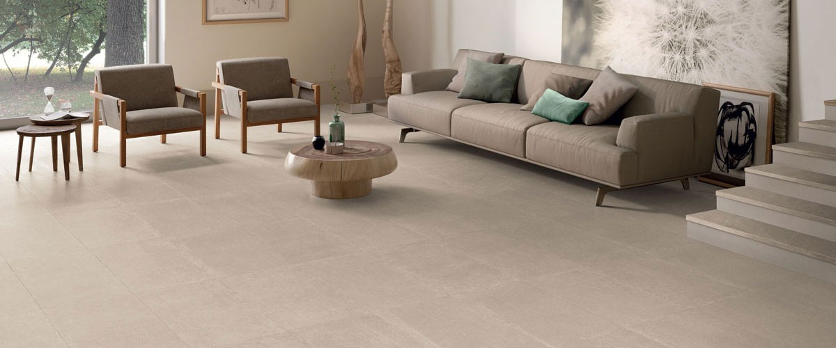 Signorino: Limestone-Beige-45x90-Amb-Living