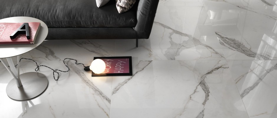 Signorino: Timeless Marble Calacatta Floor Tiles