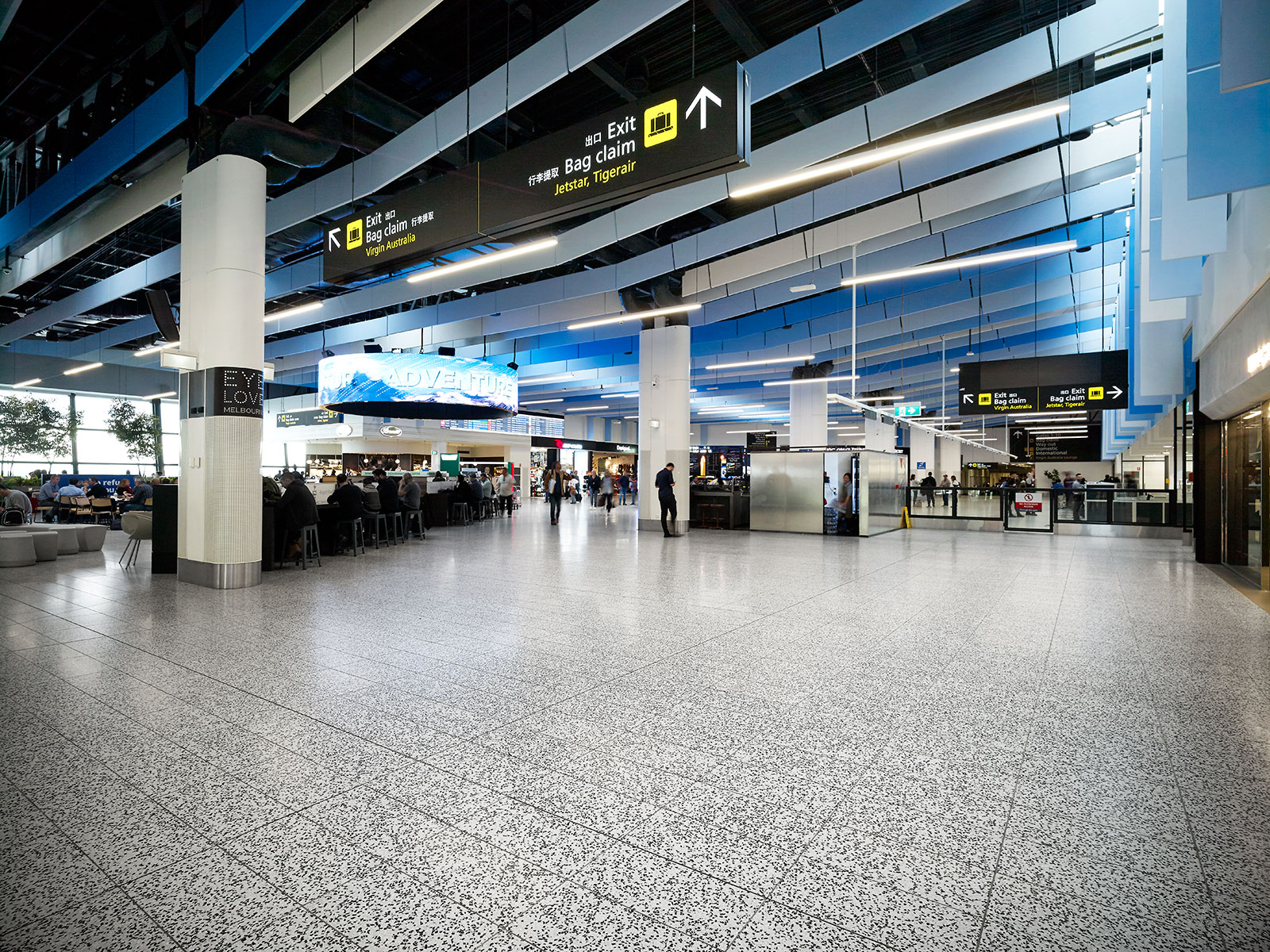 melbourne airport sits right - HD1600×1200