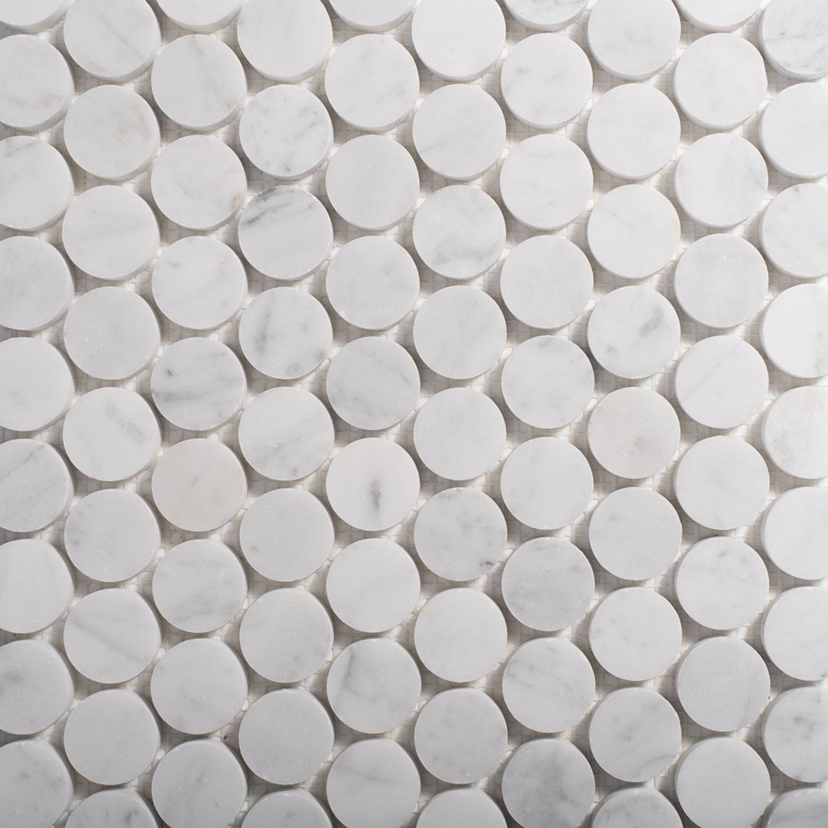 Signorino: Carrara Penny Round 30mm