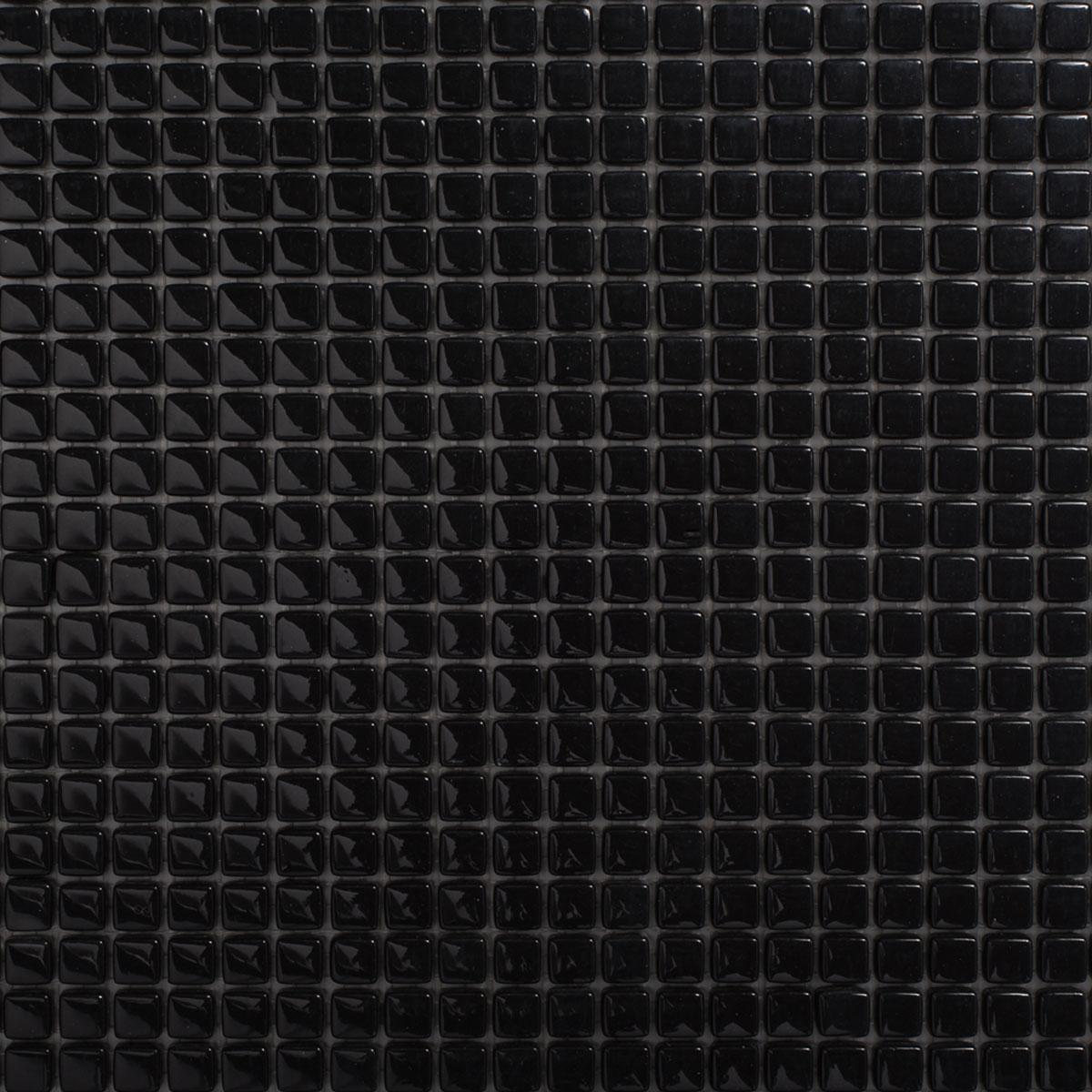Signorino: Enameled Glass Black Gloss 10×10