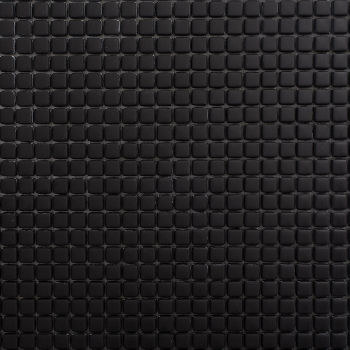 Signorino: Enameled Glass Black Matte 10×10