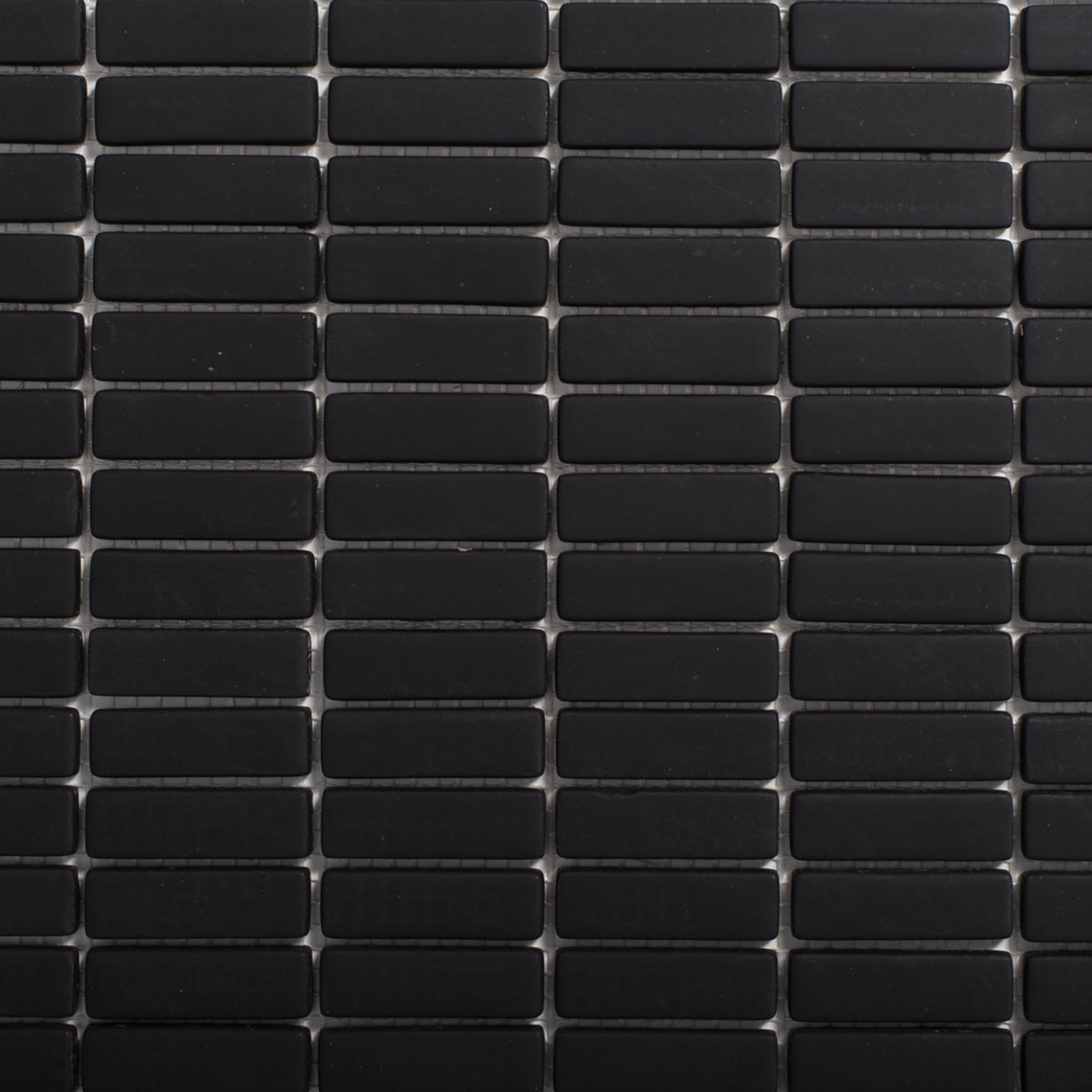Signorino: Enameled Glass Black Matte 15×48