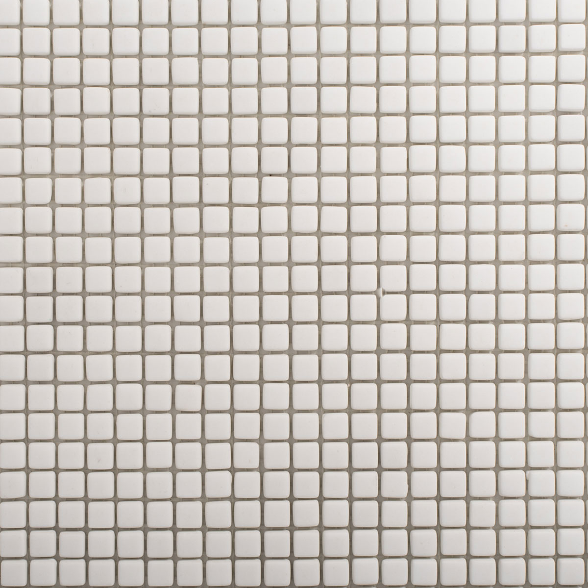 Signorino: Enameled Glass White Matte 10×10