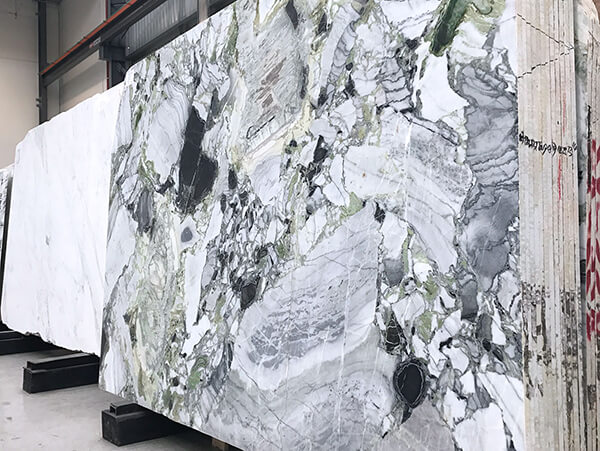 Ice Green Natural Stone Slab