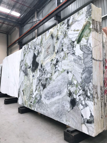 A slab of incredible natural stone