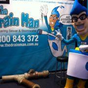 The Drain man, The Drain Main Mascot, Homeshow