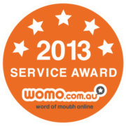 The Drain Man, Womo 2012 Award, Service Award, 5 star,
