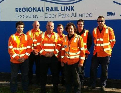 The Drain Man team at Regional Rail Link