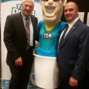 The Drain Man, Mascot, Ted Whitten