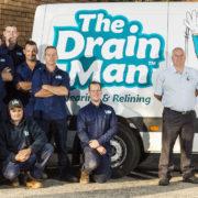 The Drain Man, Professional Team, Plumbers, Van