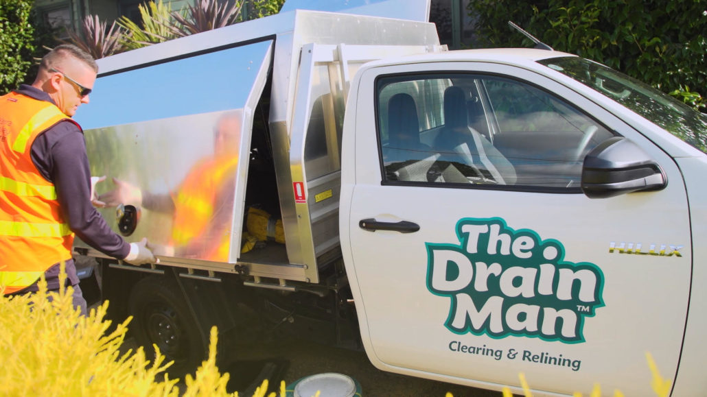The Drain Man, Van, Professional Plumber